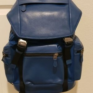 Coach (Large) Leather Backpack